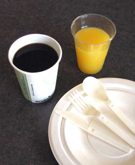 Image of Compostable Tableware
