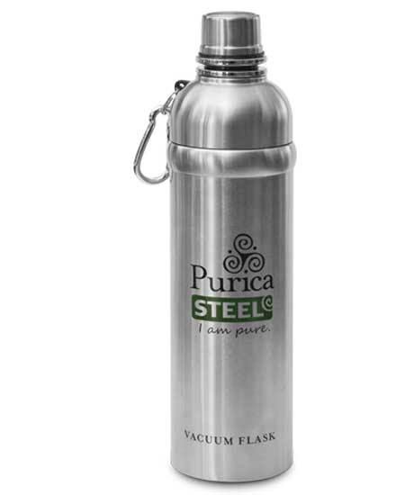 Image of Purica insulated 18 ounce bottle