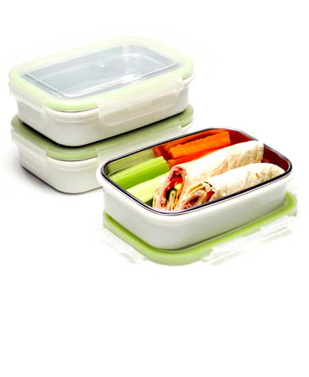 Steeltainer Sandwich Snack Leak Proof Stainless Steel